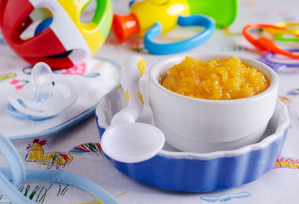 Apple and Dried Apricot Puree