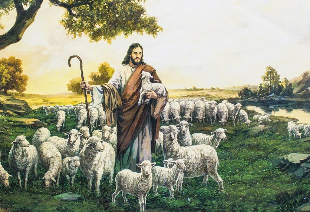 Jesus as The Shepherd