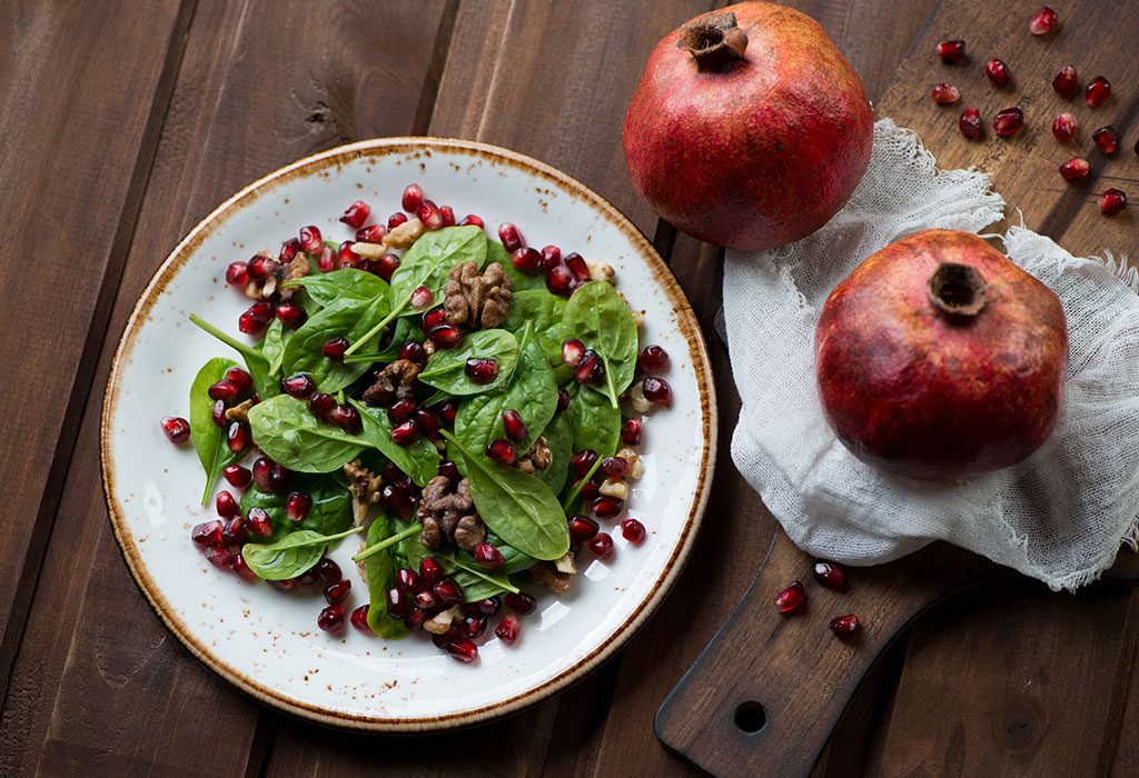 Risks Associated With the Consumption of Pomegranates During Pregnancy
