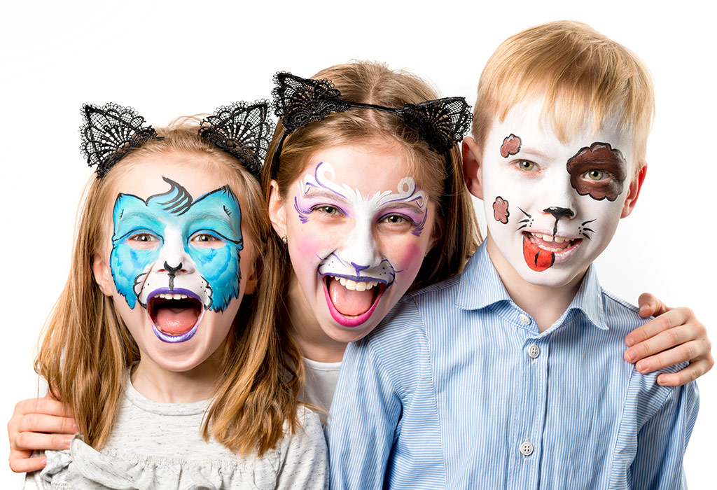 10 Easy Face Painting Ideas For Kids