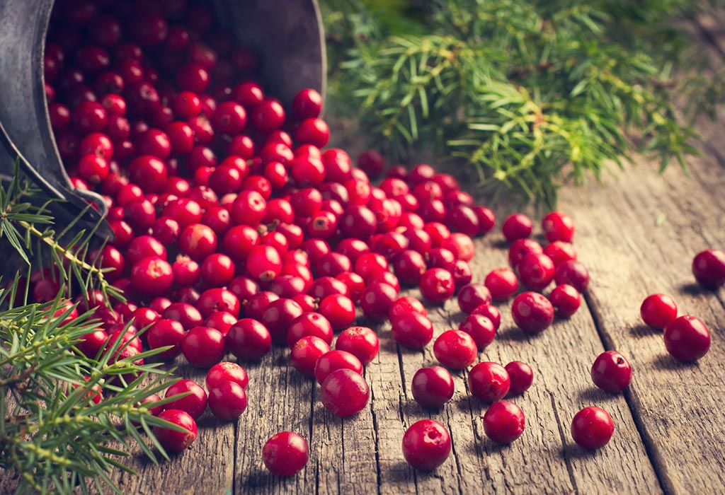 Consuming Cranberry during Pregnancy: Health Benefits, Risks