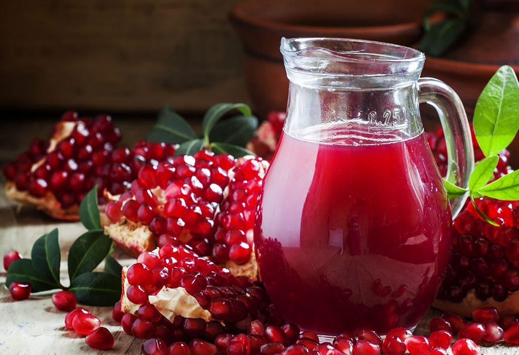 Benefits of Drinking Pomegranate Juice