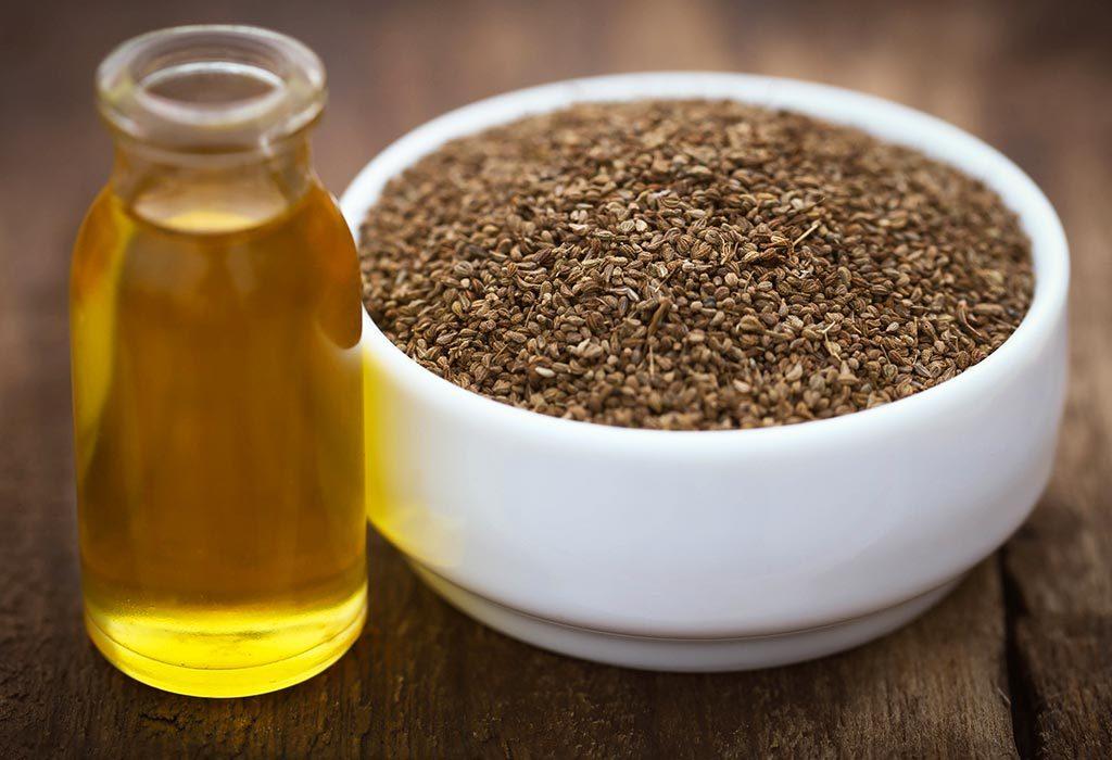 Ajwain seeds and oil