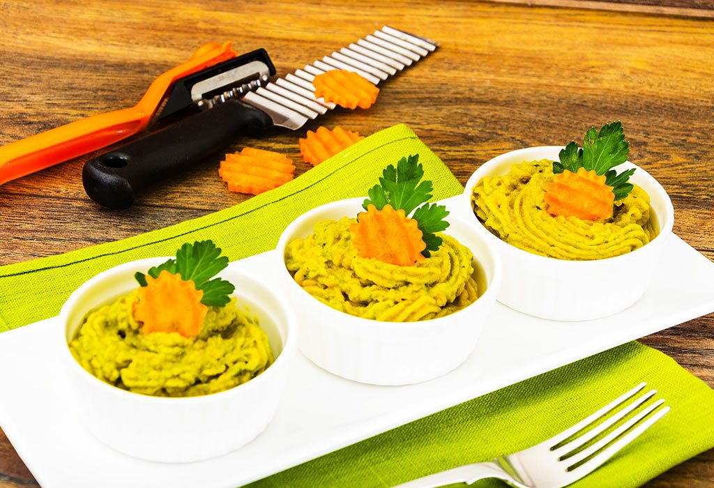 Fish, Spinach & Carrot Mash