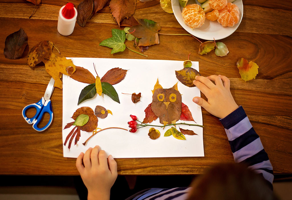8 Unique Easy To Make Leaf Art And Craft Ideas For Kids