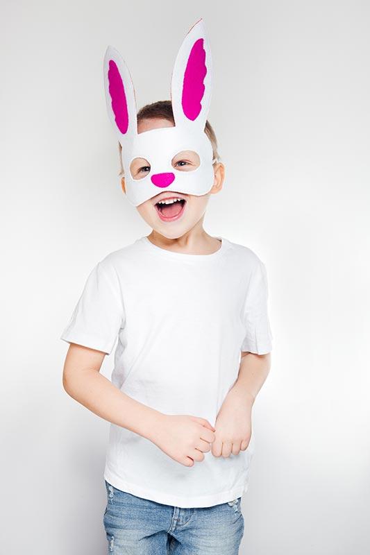 Cute Bunny Mask