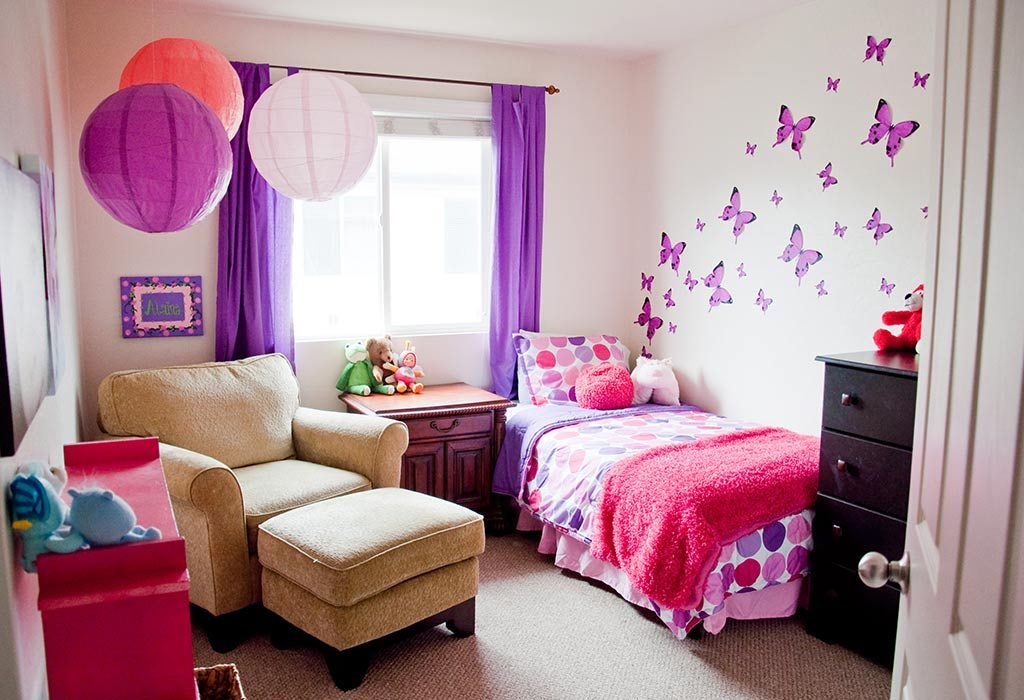 10 Innovative Ideas for Decorating a Little Girl\'s Bedroom