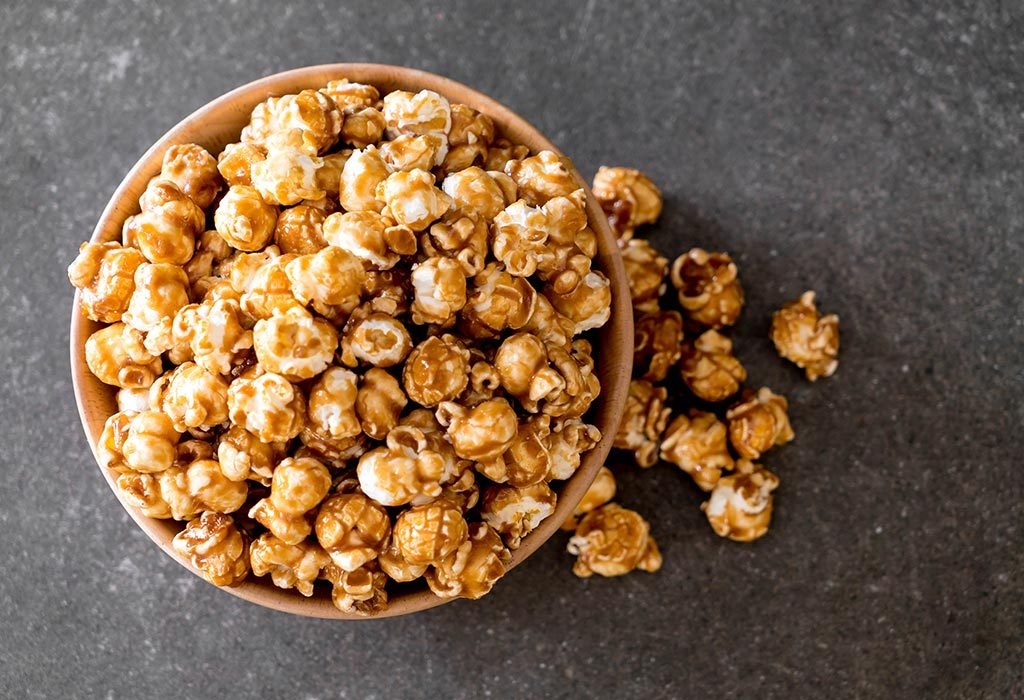 Honey And Caramel Flavoured Popcorn
