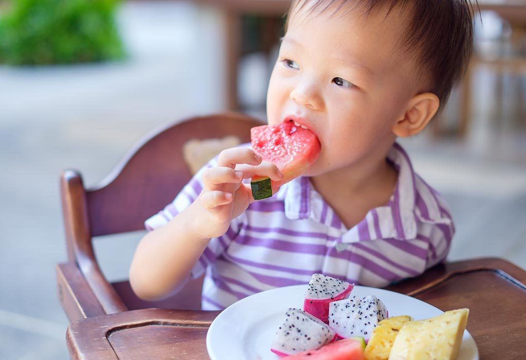 Fruits for 18 Months Old Child