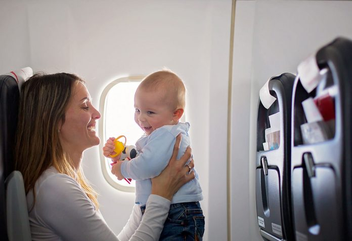 Travelling With a Baby on a Flight