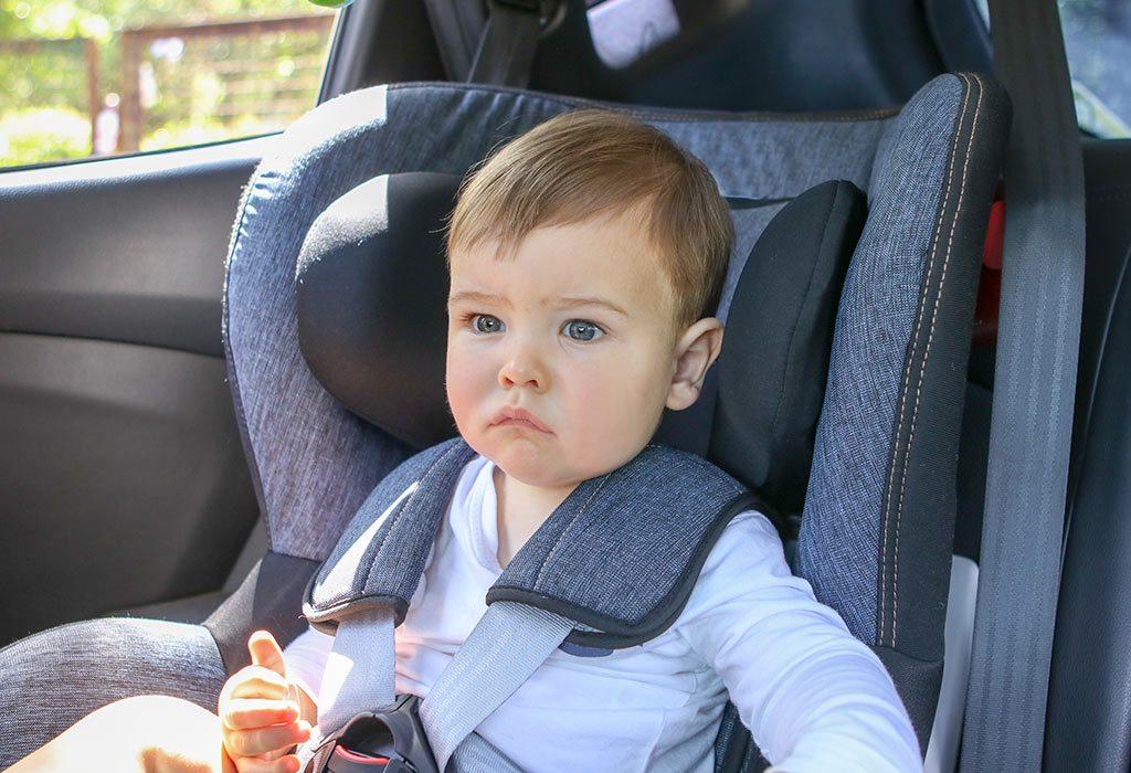 Forward-facing car seat