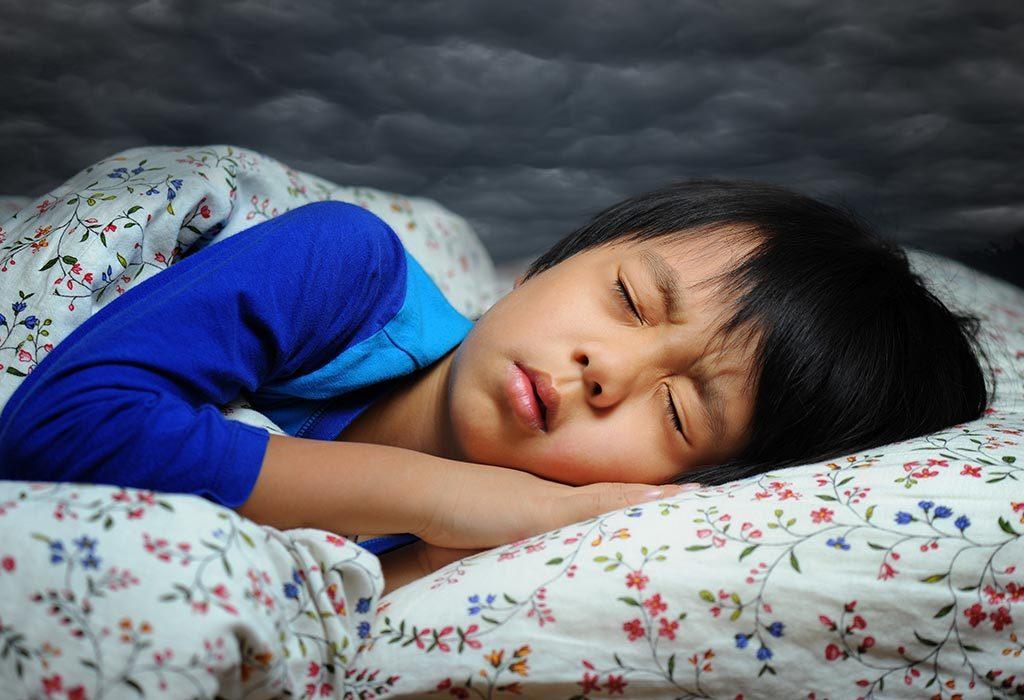 Sleep talking in children