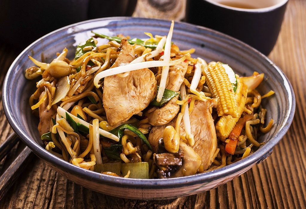 Sweet Soy Noodles