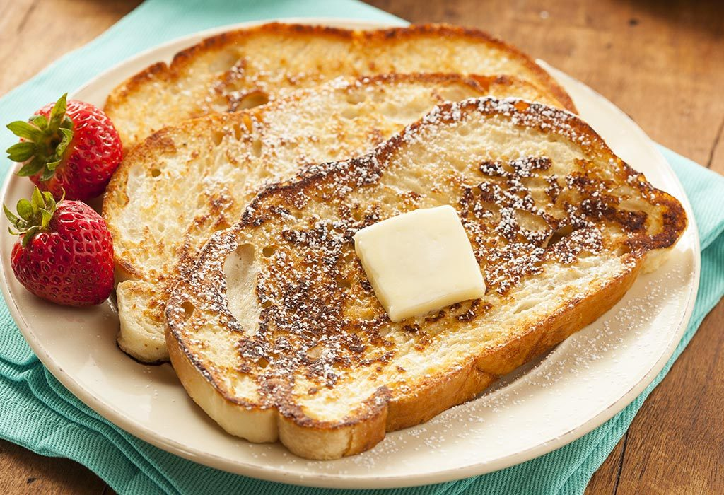 French toast for babies