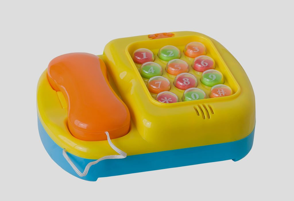 Buttons And Dials Toys for 9 Months Old Baby