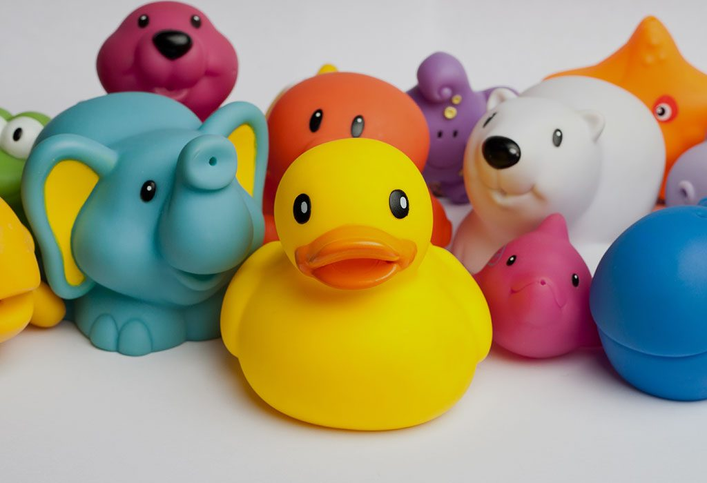 Squeaky toys for babies