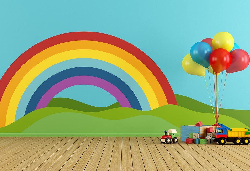 Rainbow Bedroom