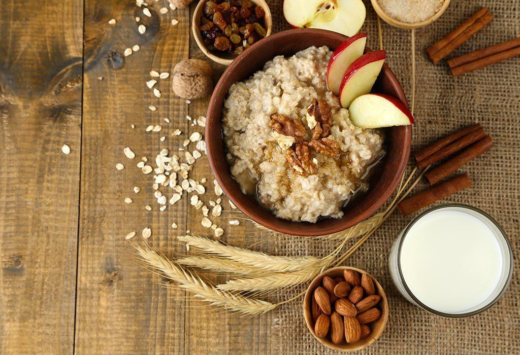 Oats Apple Porridge