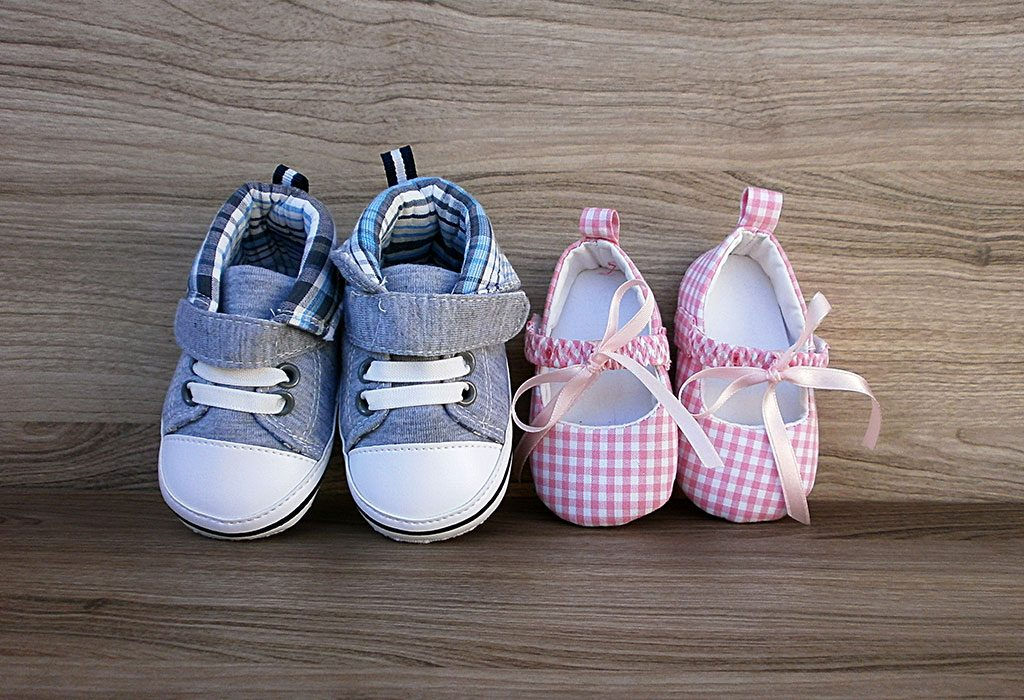 Shoe styles for baby girls and boys