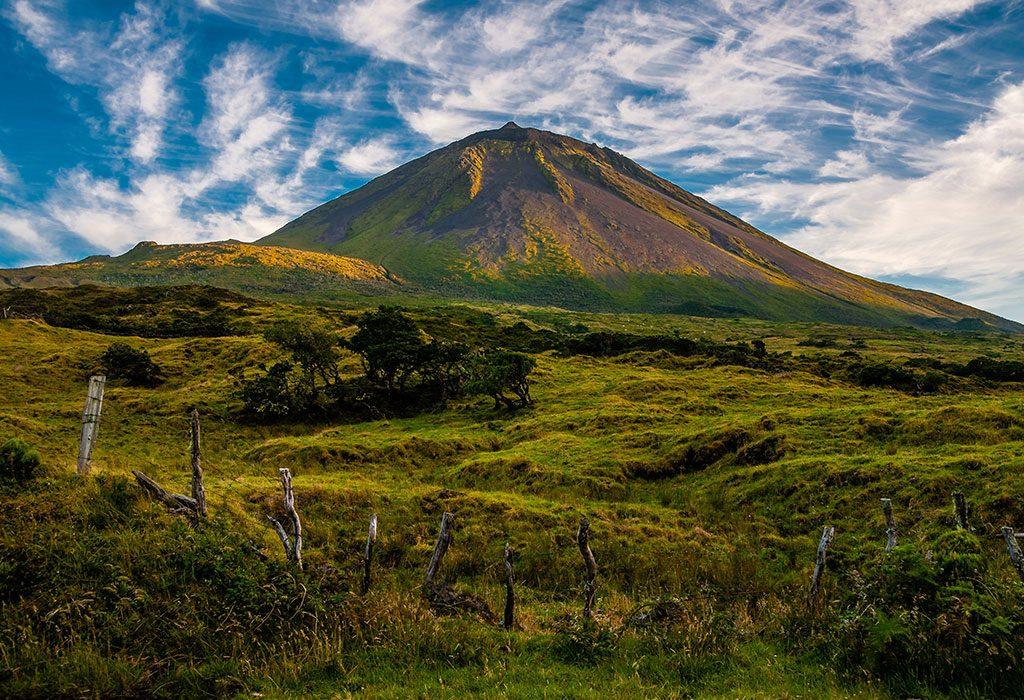 A dome mountain