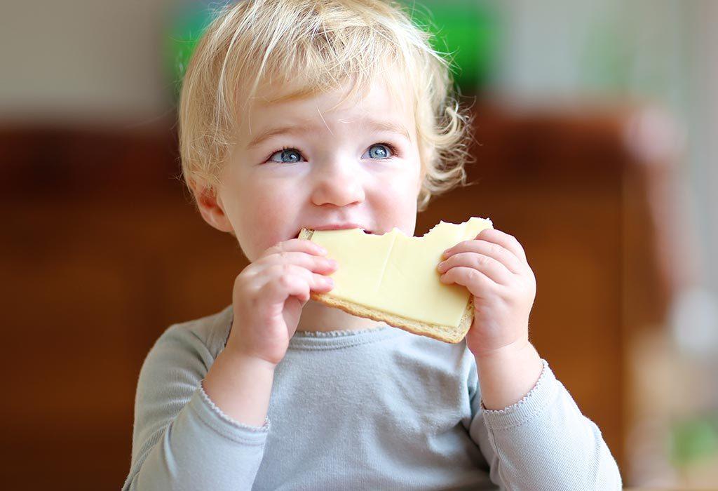 Beurre pour enfant de 18 mois