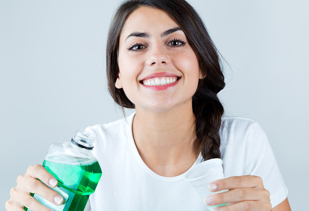 Fluoride Mouthwash for white teeth