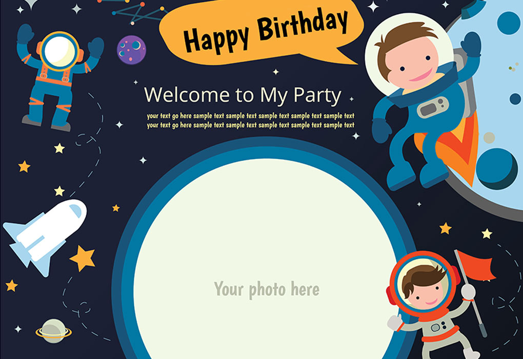 Email Invites for Birthday