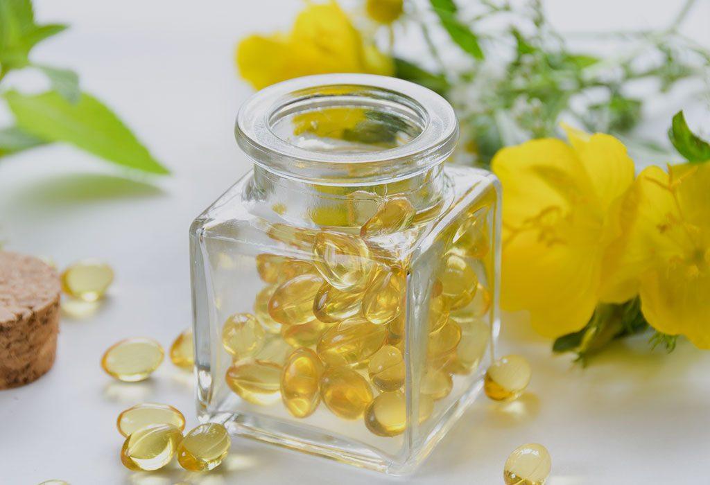 Evening primrose oil for supplements