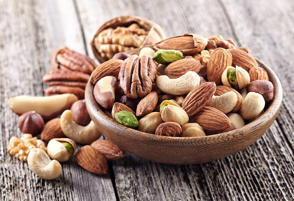 Consuming nuts