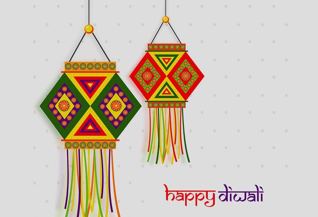 Lovely Lanterns Card for Diwali