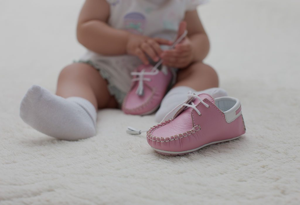 When to buy baby's first shoes?