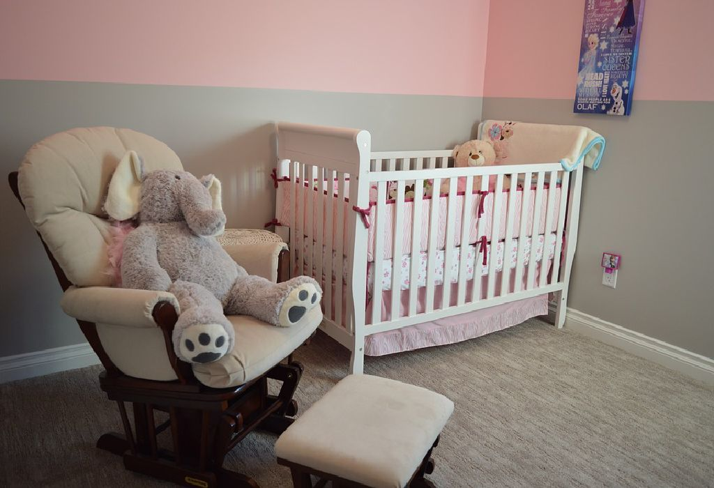 Room Decor Using Baby Name Letters