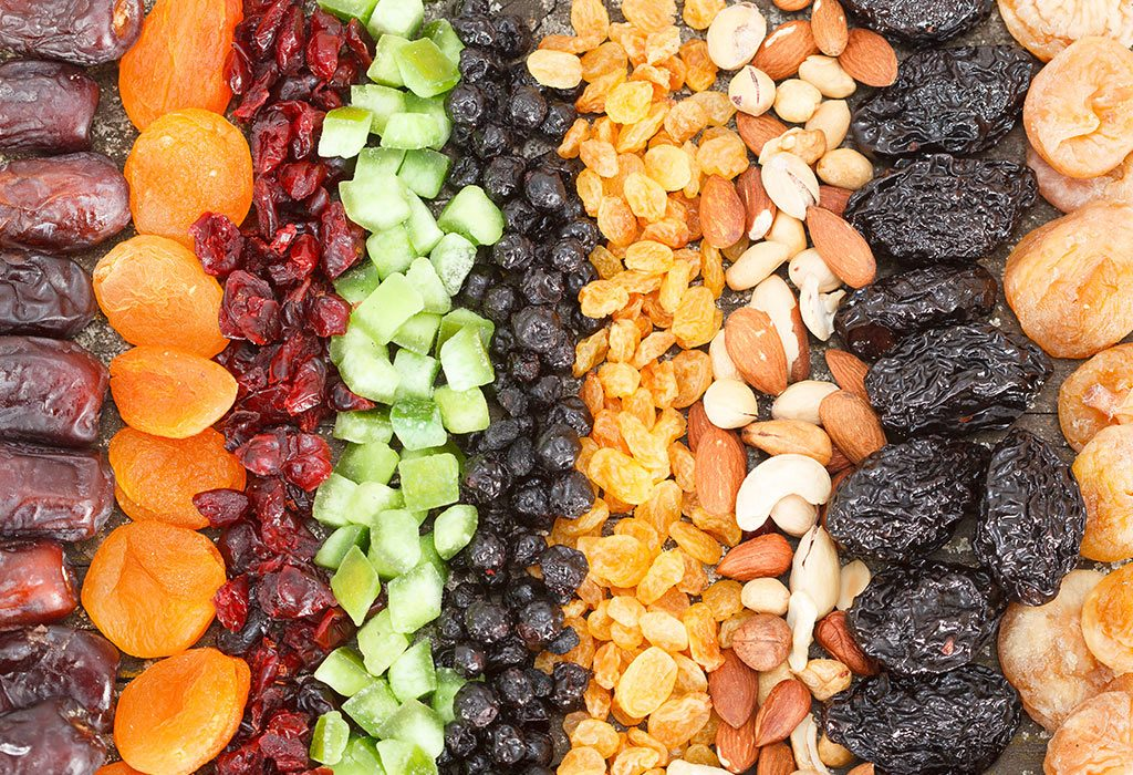 Snacks for Toddlers - Dried Fruits