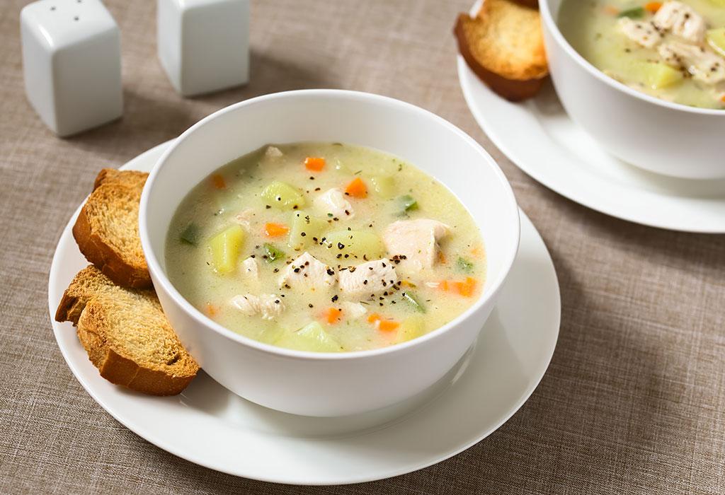 चिकन सूप