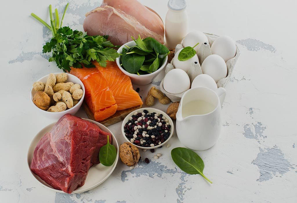 14 Weeks Pregnant - Protein rich food