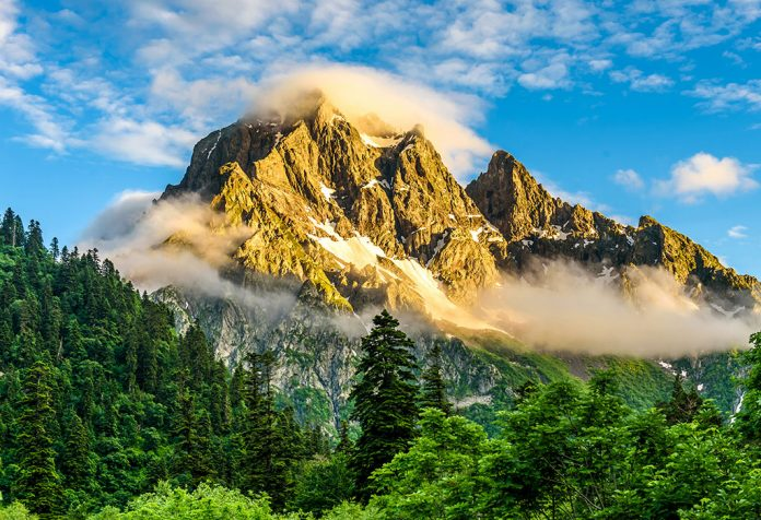 Facts and Information about Mountains for Children