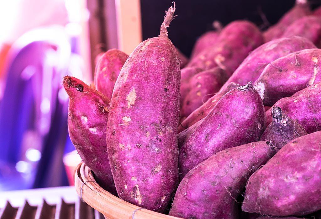 Benefits of consuming yams