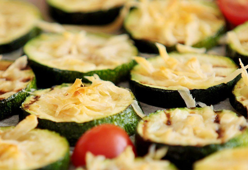 Cheesy Zucchini Slices