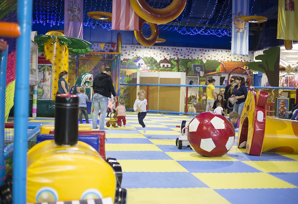 Special play area for kids
