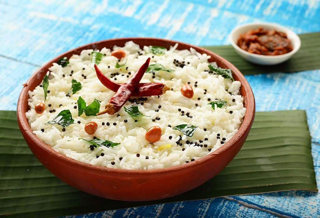 Curd Rice for 15 Months Old Child