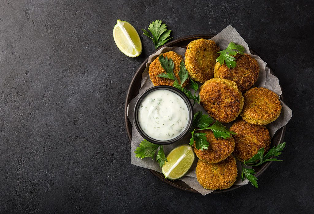 Chickpea Pumpkin Cakes