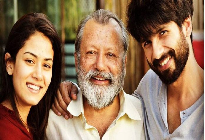 Shahid and Mira's first baby – a cute little girl