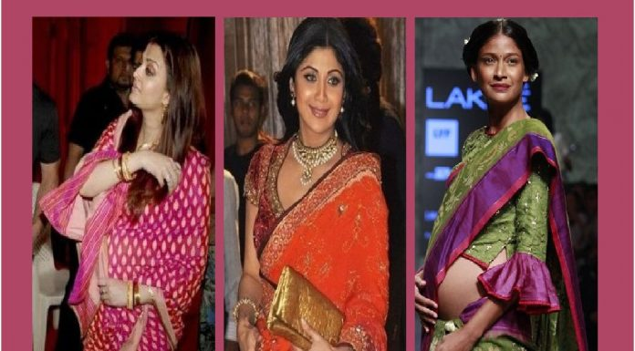 Things You Should Avoid Doing When Wearing a Saree During Pregnancy