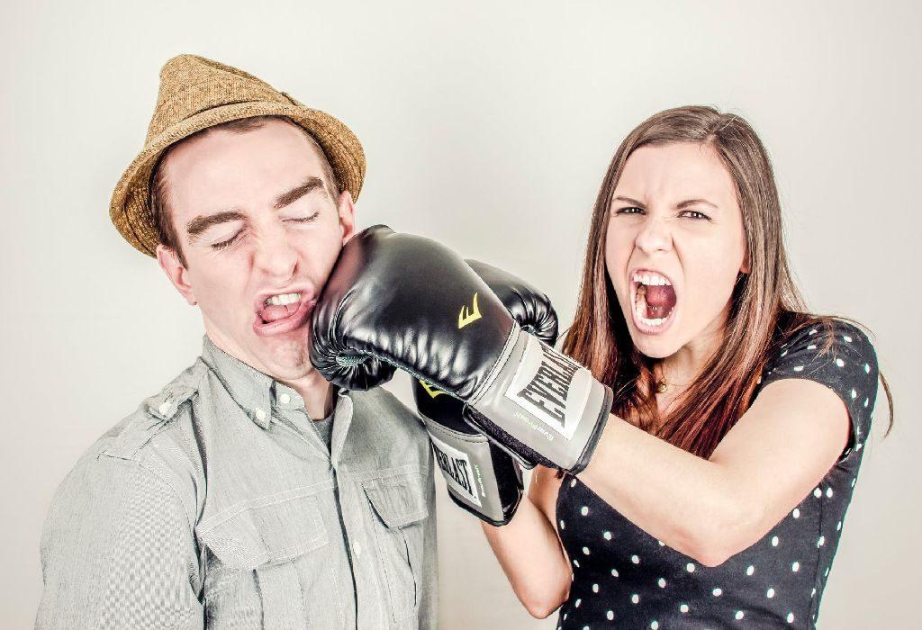 cute fight