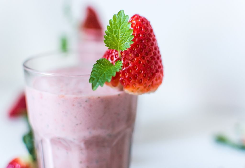 Strawberry / Guava Smoothie
