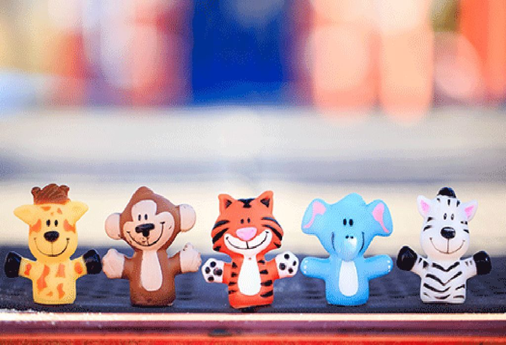 Finger Puppets Of the Zoo