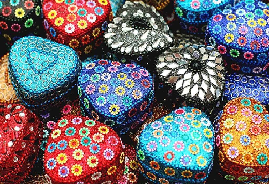 Bejewelled Jewellery Boxes