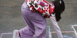 ideas to teach child hop on one leg