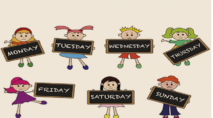 teaching days of the week to children