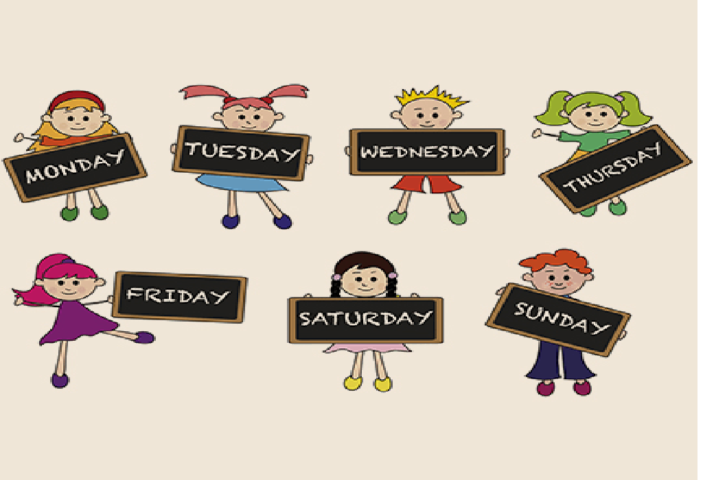 Days Of The Week Activities And Games For Toddlers